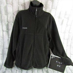 Columbia Men's Fleece Zip Up Jacket M